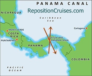 Repositioning Cruises Panama Canal
