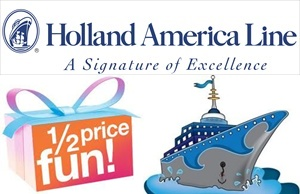 Holland America repositioning cruise deals HAL