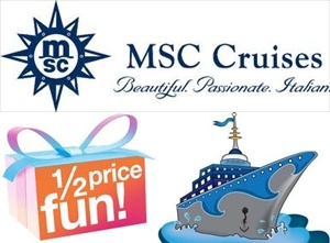 MSC repositioning cruise deals
