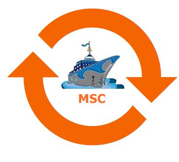 MSC repositioning cruises