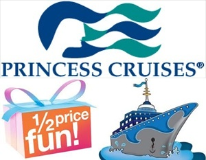 Princess Cruises repositioning cruise deals